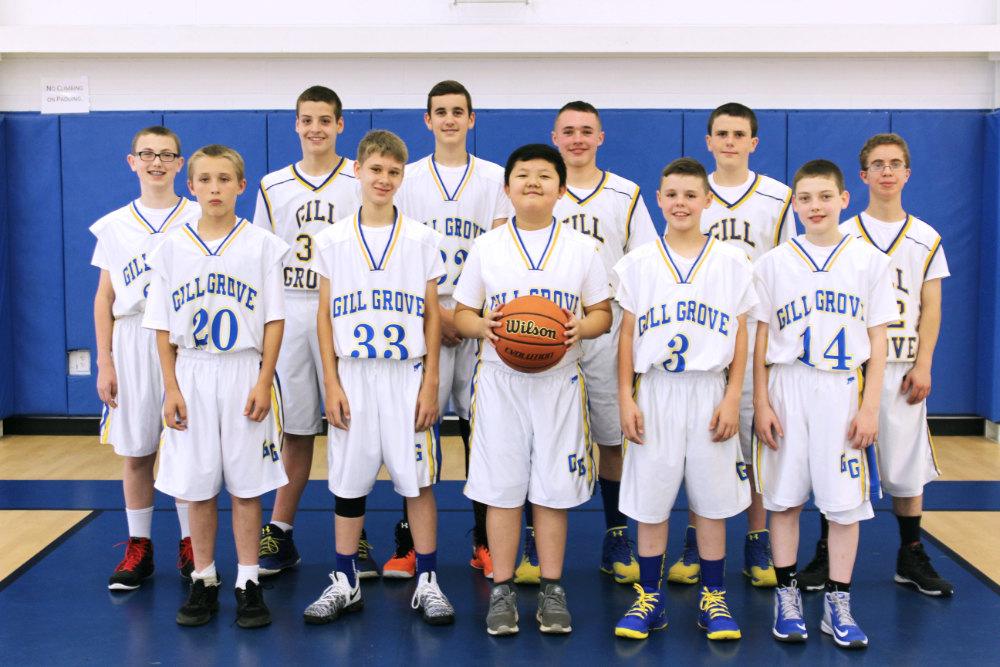 Gill Grove Junior Varsity Basketball